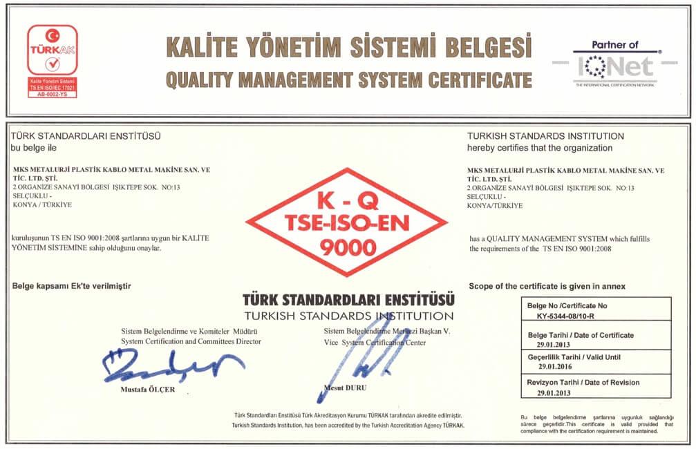 TSE ISO 9001-1